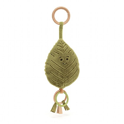 Woodland Beech Leaf Ring Toy