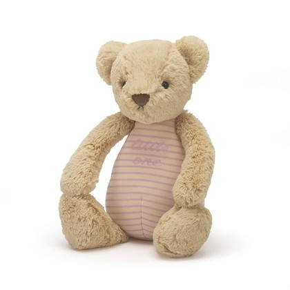 Little One Bear Pink Soft Toy