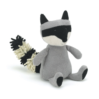 Noodle Raccoon Soft Toy