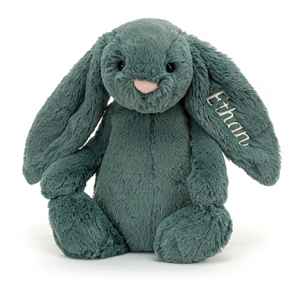 Personalized Bashful Forest Bunny