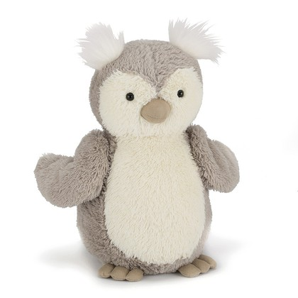 Peanut Owl Soft Toy