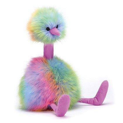 Rainbow Pompom Soft Toy