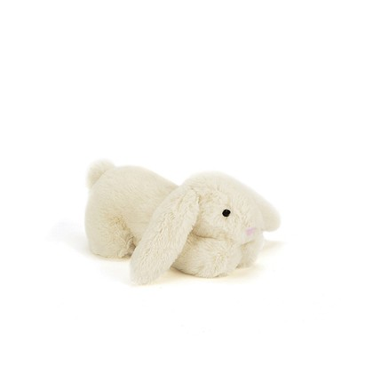 Pipsqueak Cream Bunny Squeaker Toy