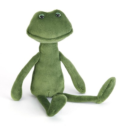 Rumplekin Frog Soft Toy