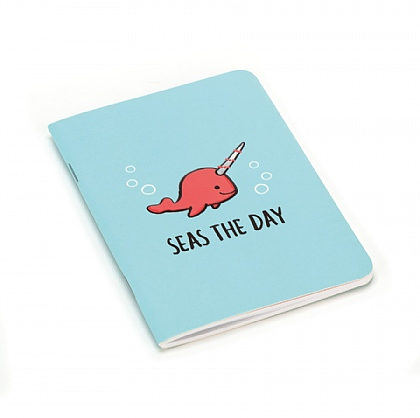 Seas The Day Aqua A6 Notebook
