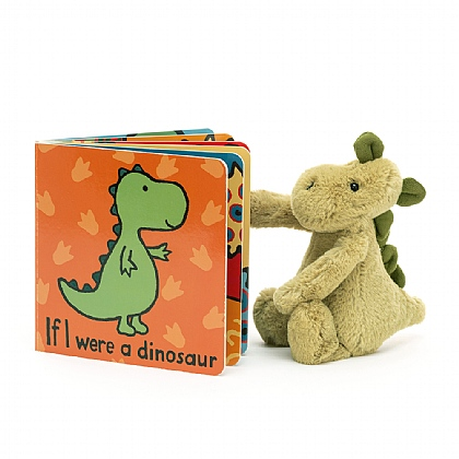 If I were a Dinosaur Book and Bashful Dino