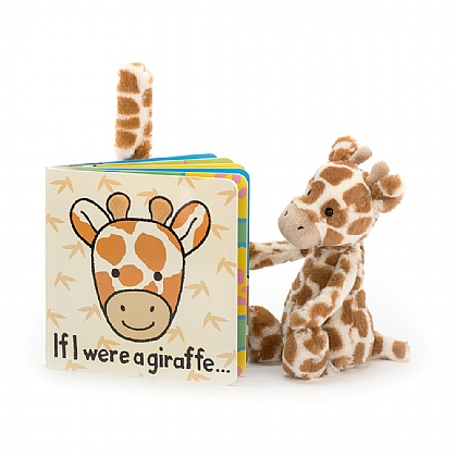 If I were a Giraffe Book and Bashful Giraffe