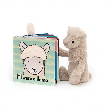 If I were a Llama Book and Bashful Llama