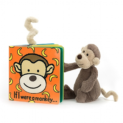 If I were a Monkey Book and Bashful Monkey