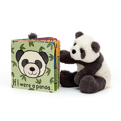 If I were a Panda Book and Harry Panda Cub