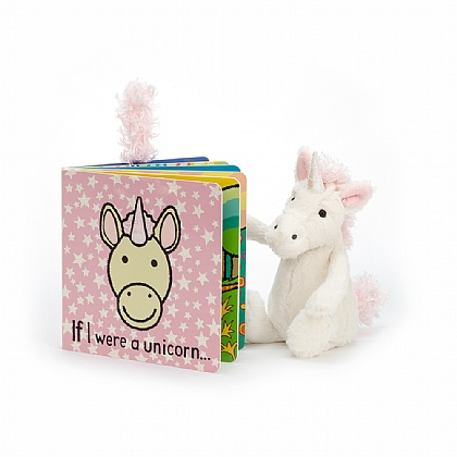 If I were a Unicorn Book and Bashful Unicorn