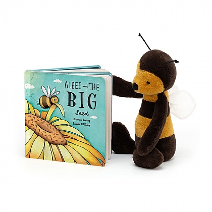 Albee And The Big Seed Book and Bashful Bee