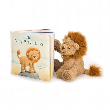The Very Brave Lion Book and Fuddlewuddle Lion