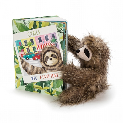 Cyril's Big Adventure Book and Cyril Sloth