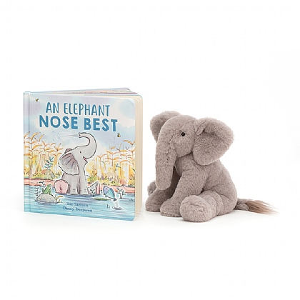 An Elephant Nose Best Book and Emile Elephant
