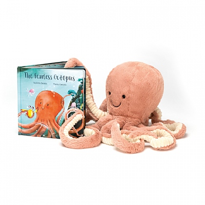 The Fearless Octopus Book and Odell Octopus