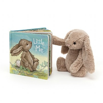Little Me Book and Bashful Beige Bunny