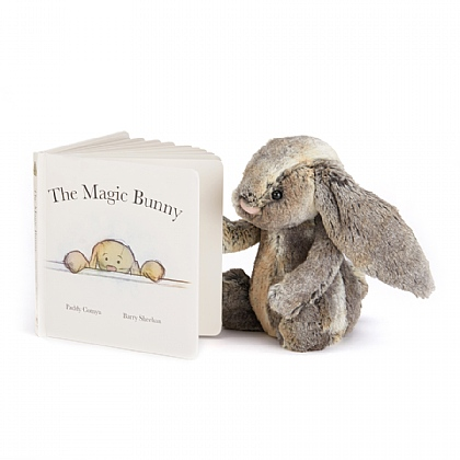 The Magic Bunny Book and Bashful Cottontail Bunny