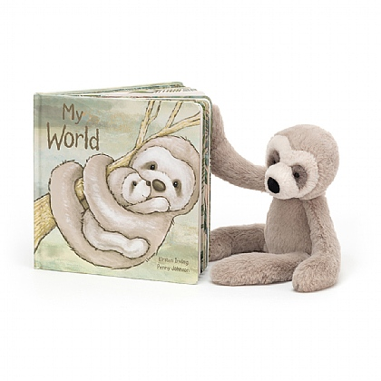My World Book and Bailey Sloth