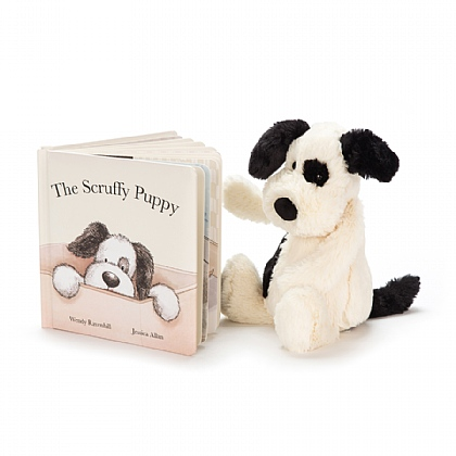 Scruffy Puppy Book and Bashful Puppy