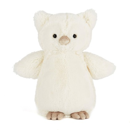 Bashful Snowy Owl Soft Toy