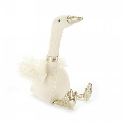 Sparkle Snow Goose Soft Toy