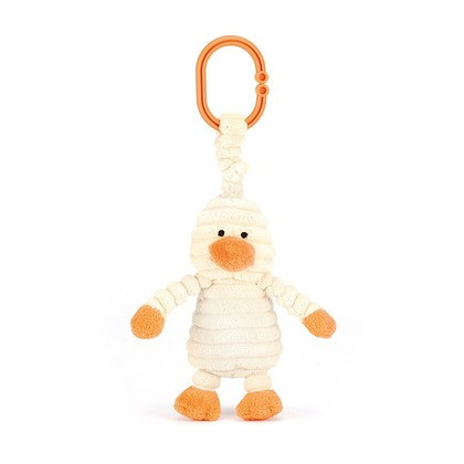 Cordy Roy Baby Duckling Jitter Pram Toy