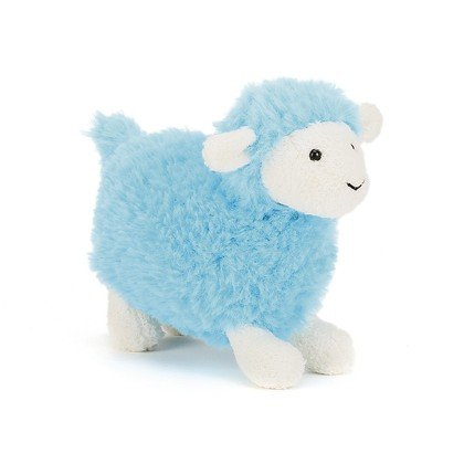 Sugar Turquoise Sheep Soft Toy