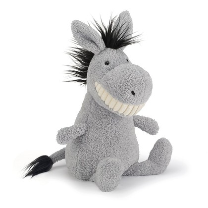 Toothy Donkey Soft Toy