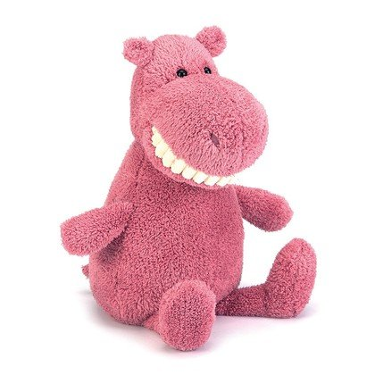Toothy Hippo Soft Toy