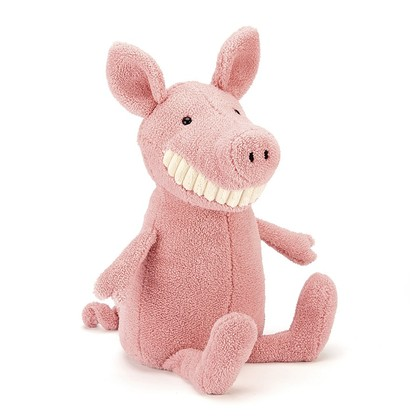 Toothy Pig Soft Toy