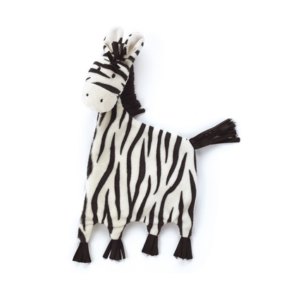 Tig Tag Zebra Soother and Squeaker Set