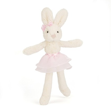 Tutu Lulu Cream and Pink Bunny