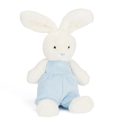 Velvet Blue Bunny Soft Toy