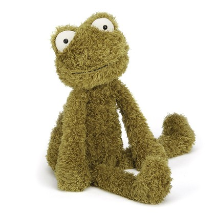 Wild Thing Frog Soft Toy
