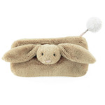 Bashful beige bunny pencil case bbpc6b