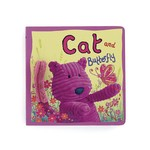 Cat and butterfly board book bk444cc