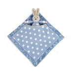 Dotty blue bunny soother dbs444bn