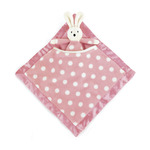 Dotty pink bunny soother dps444bn
