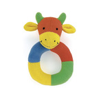 Hoopy loopy giraffe ring rattle hor6g