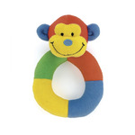 Hoopy loopy monkey ring rattle hor6m