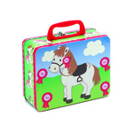 Peppermint pony tin case mis4t