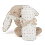 Starry bunny soother sts4b