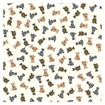 Bashful jungle wrapping paper wrp25bj